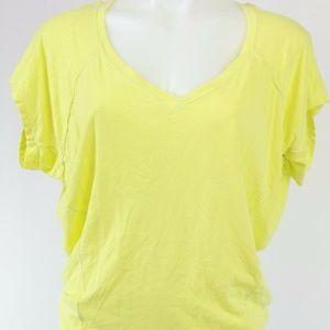 Splendid Yellow Short Sleeve Top Size XS